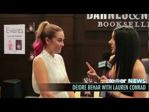 Lauren Conrad Interview 2012 - The Fame Game Book Signing