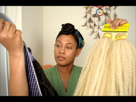 Why I'm Using the Crochet Braid Technique & Review on Kinky Twist Braiding Hair
