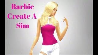 Barbie Doll Create A Sim + Update-ish