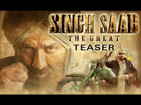 Singh Saab The Great (Official Teaser) | Sunny Deol, Urvashi Rautela & Prakash Raj