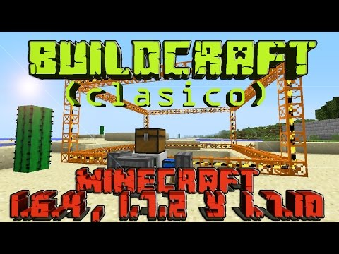 Minecraft   REVIEW DEL MOD BUILDCRAFT (CLASICO)   MINECRAFT 1.6.4. 1.7.2 Y 1.7.10