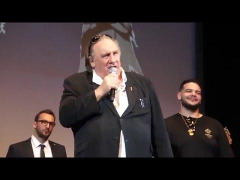 Cannes 2016 - Gérard Depardieu en pleurs à la Quinzaine des réalisateurs