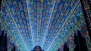 Light Festival Ghent 2012: A Cathedral of 55,000 LED Lights