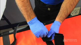 Salvafast Transfer - Quick restraint and transfer for stretcher