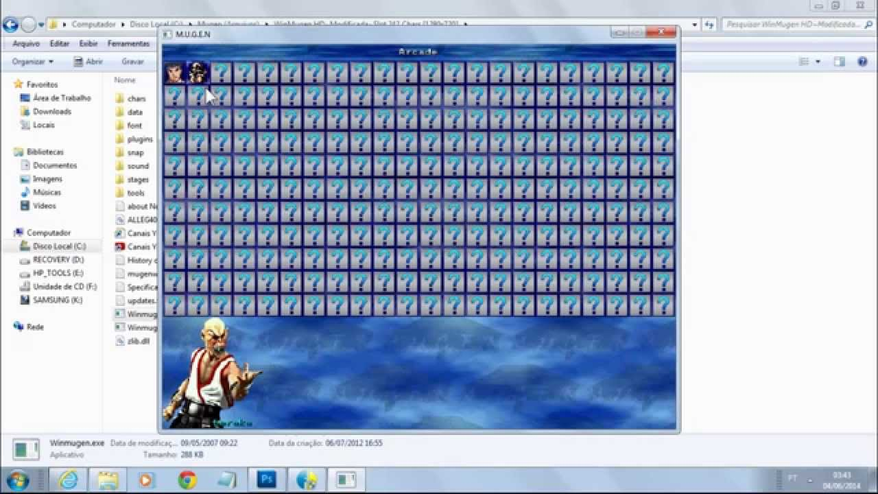 No limit winmugen patch free download
