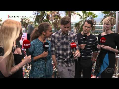 The Man from U.N.C.L.E Cast Interview - Comic-Con 2015