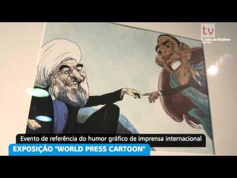 """Exposição """"World Press Cartoon"""""""