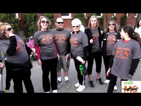 "National Multiple Sclerosis Society's ""MS Walk 2012"" at Spokane Falls Community College"
