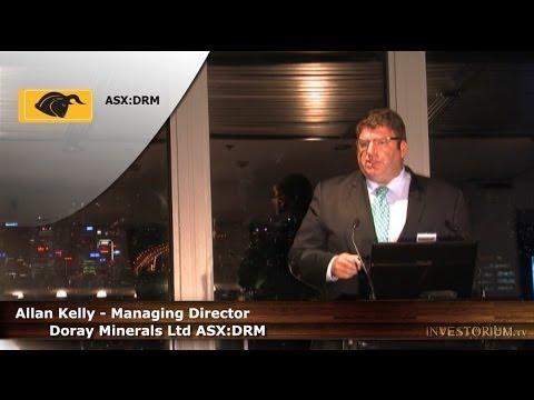 Doray Minerals Ltd (ASX:DRM) MD Allan Kelly Presents at Investorium.tv