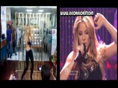 Doble de Shakira - She Wolf