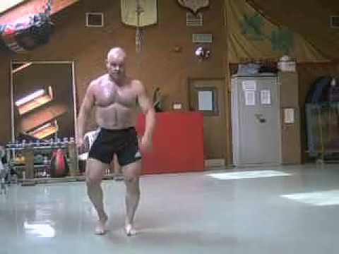 Performing Bas Ruttens boxing cd workouts
