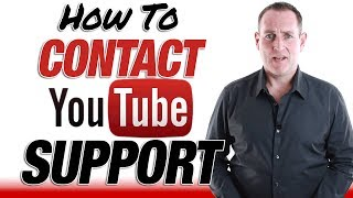 YouTube Support - How To Contact YouTube