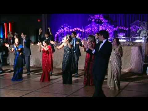 Bollywood-Style Wedding Reception Entrance Dance