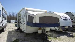 2010 R Vision Trail Lite Crossover TLX 180T Pre Owned Expandable Travel Trailer Walk Through