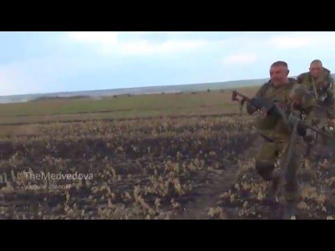 Наступление сил ЛНР на позиции ВСУ