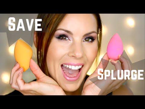 Save or Splurge?! Beauty Blender vs Real Techniques Sponge Review