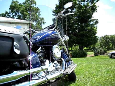 Yamaha V Star Silverado 1100 w/ Vance and Hines Classic 2 Video