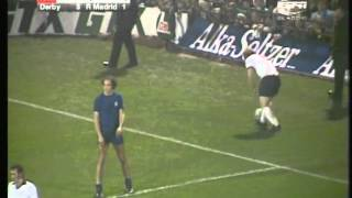 1975 Derby v Real Madrid