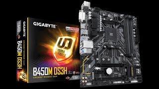 Tarjeta Madre Gigabyte B450M DS3H Review en Español