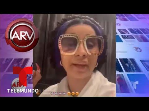 Cardi B defiende enfáticamente a República Dominicana | Al Rojo Vivo | Telemundo