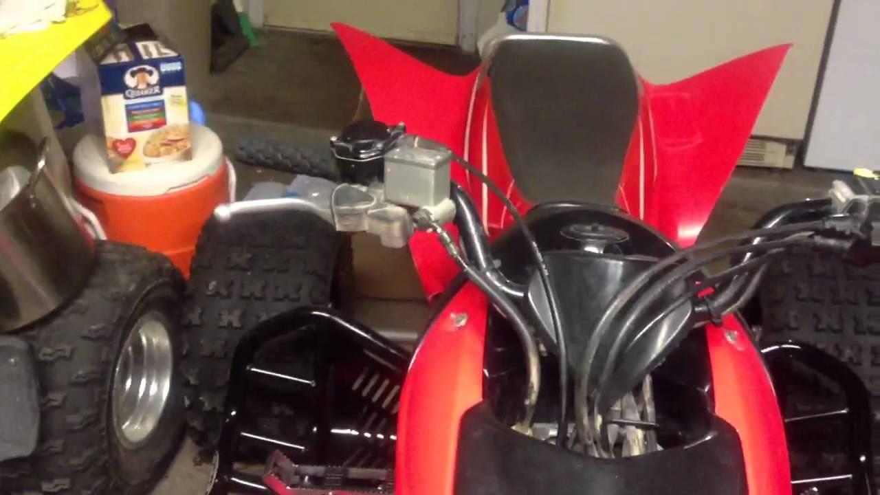 04 Honda Trx450r (Update) - YouTube