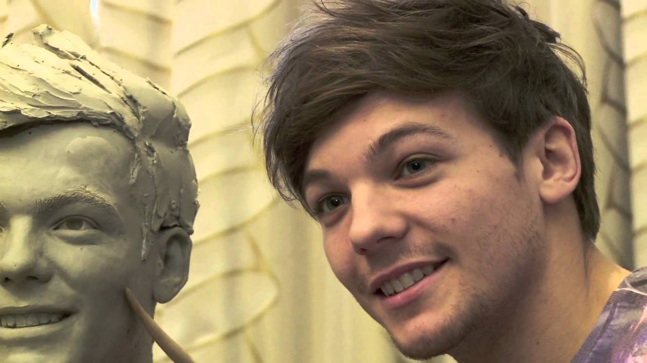 Sculpting Louis Tomlinson From One Direction At Madame