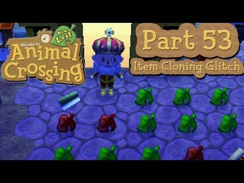 Animal Crossing: New Leaf - Part 53: Item Cloning Glitch Tutorial!  Duplicate ANY Item In The Game!