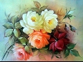 Вышивка лентами. Роза от Дугласа. /embroidery ribbons rose