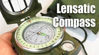 Lensatic Military Sighting Compass by BeGrit review and giveaway