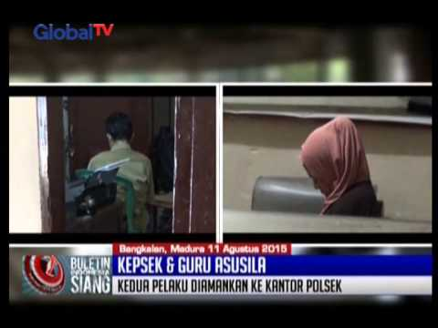 Kepsek Dan Guru Kepergok Warga Memadu Kasih Di Pemakaman - BIS 11/08