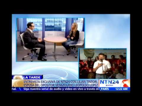 Entrevista: esposa de Leopoldo López denuncia en Vzla ante Comisionado de ONU