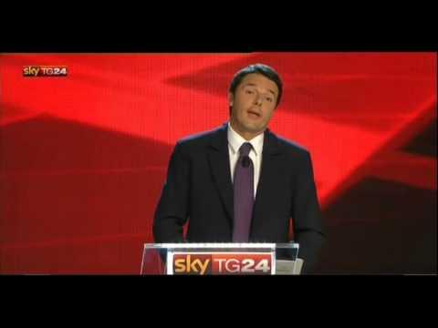 Matteo Renzi – Tasse ed Imu – Confronto Skytg24 Primarie Italia Bene Comune