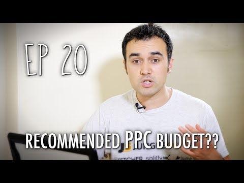 What's the recommended budget for PPC? - ASK JUNGLE SCOUT EP #20