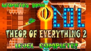 Geometry Dash | THEORY OF EVERYTHING 2 ПРОЙДЕН!