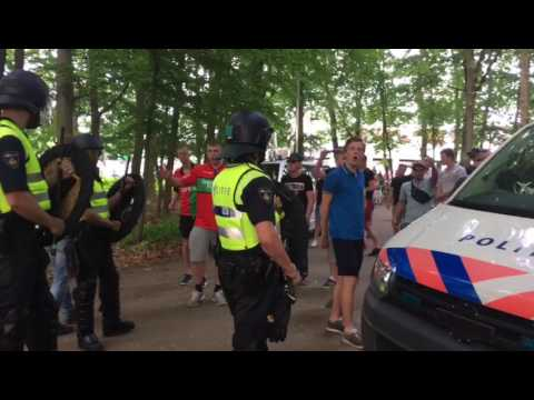 Agressie tegen journalisten buiten Goffert
