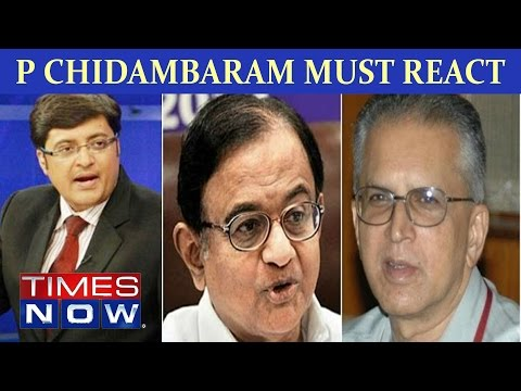 P Chidambaram Must React On Ishrat Jahan Encounter Case