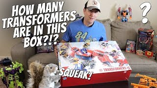 Transformers Toys 35th Anniversary Surprise Box from Hasbro