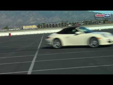 2009 Porsche 911 Cabriolet Track Testing