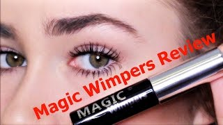 IN 1 MINUUT LANGERE & VOLLERE WIMPERS - MAGIC WIMPERS REVIEW