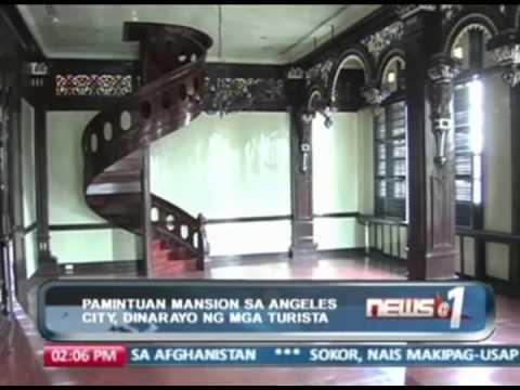 Pamintuan Mansion sa Angeles City, dinarayo ng mga turista
