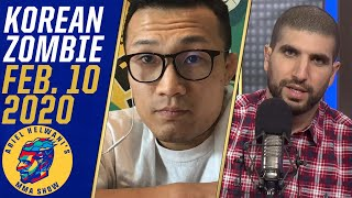 Korean Zombie responds to Alex Volkanovski, wants title fight | Ariel Helwani's MMA SHow