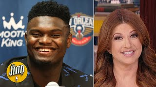 Rachel Nichols scolds the haters who declared Zion's NBA debut a dud too early | The Jump