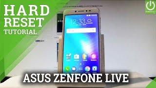 How to Restore ASUS ZenFone Live ZB501KL - Hard Reset / Format