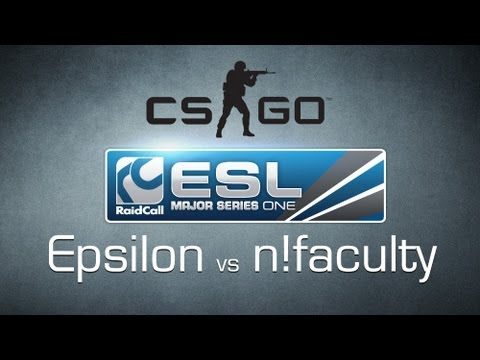 Epsilon vs. n!faculty - Grand Final RaidCall EMS One Cup 1 - Counter-Strike:GO
