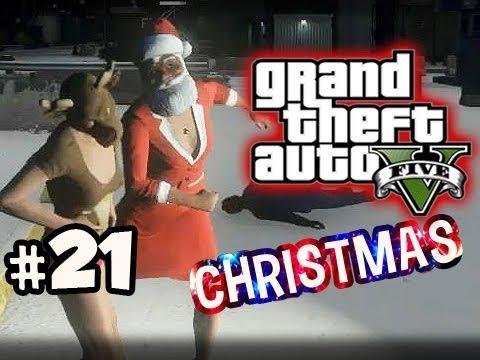 MUGGED ON XMAS - Grand Theft Auto 5 CHRISTMAS ONLINE w/ Nova & Kevin Ep.21