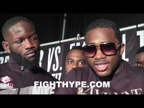 ADRIEN BRONER AND EMMANUEL TAYLOR REFLECT ON ENTERTAINING FIGHT WE BOTH CAME TO FIGHT