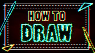 ZHC - How to Draw (Song) Official Lyric Video