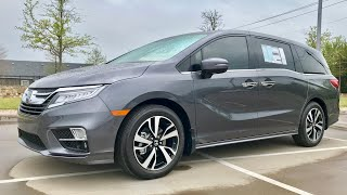 Ultimate HANDS ON 2018 Honda Odyssey Elite Review