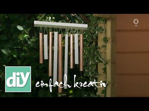 Klangspiel aus Kupferrohren | DIY einfach kreativ