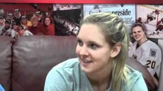 Amanda Kessel Q and A